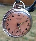 RARE,UNIQUE made in USA Pocket Watch WESTCLOX Pocket Ben. Model 20001.