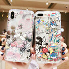 For iPhone 11 Pro X XS Max XR 6 7 8 Disney Cute Minnie Mickey Phone Case Cover