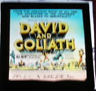 DAVID AND GOLIATH 1960 ORIGINAL GLASS SLIDE ORSON WELLES IVICA PAJER