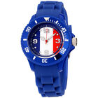 Ice World France Edition Multi-Color Dial Silicone Strap Unisex Watch WO.FR.S.S.