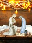 Lladro Figurine Joseph, Mary and baby Jesus no chips or cracks