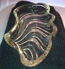 Leaf Shape Glass Dish Heavy Duty