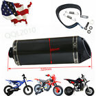 35mm Exhaust pipe Muffler Motorcycle fit Scooter Dirt quad ATV Bike 150CC 200CC