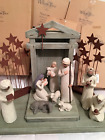 Willow Tree Nativity 13 Piece Set Susan Lordi Holy Family Wisemen Creche Stars
