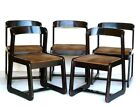 Mario Sabot Italian Design 5 Chairs willy rizzo 1970s