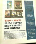 2010-11 Upper Deck NHL Hockey Series 1 Complete set with ALL 50 YOUNG GUNS