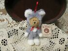 Boyds Bear MOUSERELLA ~Ornament Bear Dressed as Mouse H.B's Heirloom Series ~New