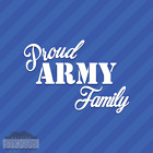 Proud Army Family Vinyl Decal Sticker