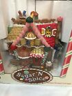 "*RARE* Lemax Christmas Village SUGAR 'N SPICE ""Gingerbread Cottage"" -MIB"