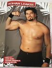2010 FCW Tourbook ROMAN REIGNS Debut SETH ROLLINS 56 Rookies AJ LEE Auto NXT WWE
