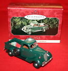 HALLMARK ORNAMENT 1998---1937 FORD V-8 #4  ALL AMERICAN TRUCK SERIES