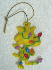 VINTAGE PEANUTS  ORNAMENT WOODSTOCK WRAPPED IN CHRISTMAS LIGHTS