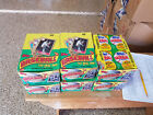Lot (4) 1987 Topps Baseball Cards Wax Boxes 36 packs each Barry Bonds Rookie RC