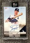 2018 TOPPS NOW Road To Opening Day Joc Pederson #OD-410A Autograph #07 99