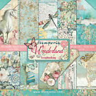 Stamperia Double Sided Paper Pad 12X12 10 Pkg Wonderland 10 Designs 1 Each