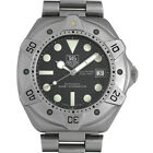 Tag Heuer Automatic Stainless Steel Men's Watch Super Professional 1000M Auth