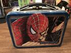 Spider Man Lunch Box Style Mini Lunchbox 5 1 2 x 4  x 2 1 2 Marvel