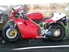 HOT WHEELS COLLECTIBLES - DUCATI 996 SPS SPORT BIKE / MOTORCYCLE - 1/10 DIECAST