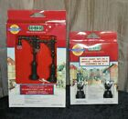 LOT OF 2. LEMAX VILLAGE COLLECTION LIGHTS. (SPOT LIGHTS & VICTORIAN STREET LIGHT