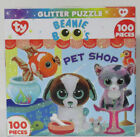 Master Pieces 100 Jigsaw Puzzle Glitter Puzzle Beanie Boo's PET SHOP CLUB Cat