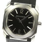BVLGARI OCTO SOLOTEMPO BGO38BSLD Automatic Leather belt Men's Watch_460122