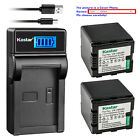 Kastar Battery LCD USB Charger for Panasonic VW VBN260 HC X800 HC X800GK Camera