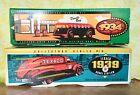 *2* ERTL Texaco Coin Banks 1939 Dodge Airflow and 1934 Doodle Bug. Mint in Box