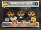 Funko Pop Ad Icons Funko Shop Exclusive Rice Krispies Snap, Crackle, Pop 3 Pack