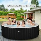 Backyard Garden Hot Tub 6 Person At Home Spa NEW Bubble Jets Outdoor