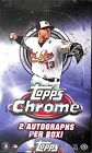 2013 Topps Chrome Sealed Hobby Box 4 cards per pack 24 packs per box
