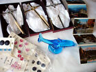 Lot of Blue Glass Dolphin 3 Wedding Wall Crosses New Buttons  Germany Photos