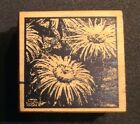 Rubber Stamp Flowers Outlines
