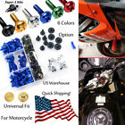CNC Fairing Bolt Kit Fastener Clip Screw For Aprilia DORSODURO 1200 2011-2013