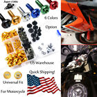 Motorbike Alloy Complete Fairing Bolt Screws Nuts Universal For Aprilia TUONO R