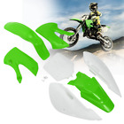 Motorcycle Plastic Fender Fairing Body Set For KAWASAKI KLX 110 KX65 DRZ110