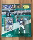 1999 Starting lineup Peyton Manning figure card toy football NFL Indy Colts QB