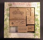 Susan Branch Rubber Stamp Baby Set Of Eight 8 Stork Rattle Duck