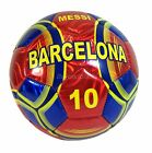 Barcelona Soccer Ball Messi 10 Durable Foot Ball Official Size 5