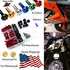 Motorcycle Fairing Bolt Kit Fastener Clip Screw For BMW F800R 2009-2016 6 Colors