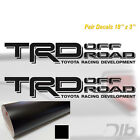 Toyota Trd Off Road Decals Sticker 2 Truck Bed Offroad Tacoma Tundra P