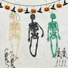 Rubber Skeleton Decor Horror Props Halloween Party Decoration Hanging Pendant WS