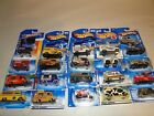 HOT WHEELS Lot of 20 Work Dairy Delivery Trucks 1997 2010 NO Duplicates