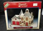 Lemax Village Collection Plymouth BRISTOL FIREHOUSE Lighted Porcelain Building01