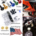Motorcycle CNC Fairing Bolt Kit Fastener Clip Screw For Buell XBRR 2006-2007