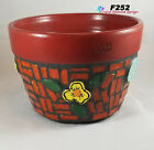 Flower Pot Planter Handmade Tiles  Glass Chili Tiles Mosaic Planter F252