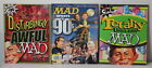 LOT of 3 Disturbingly AWFUL MAD MAD SPOOFS the 90s and TOTALLY USELESS MAD