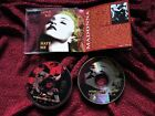 Madonna BLOND AMBITION TOUR  2 PICTURE DISC SILVER PRESSED CD SET Sex LIKE HOT