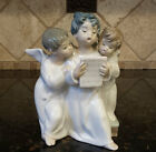 Lladró Figurine Group of Angeles No. 4542 Retired - Mint Condition