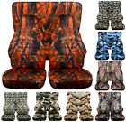 Jeep Wrangler 1987 2019 YJ TJ JK JL 18 Prints Full Set Front Rear Seat Covers