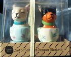 Chihuahuas In Tea Cups Ceramic Salt and Pepper Shakers Gift Set TT509